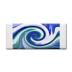 Abstract Waves Hand Towel by Colorfulart23