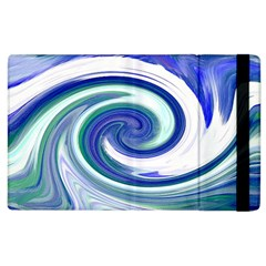 Abstract Waves Apple Ipad 3/4 Flip Case by Colorfulart23