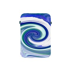 Abstract Waves Apple Ipad Mini Protective Sleeve by Colorfulart23
