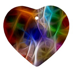 Fractal Fantasy Heart Ornament (two Sides) by StuffOrSomething