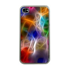 Fractal Fantasy Apple Iphone 4 Case (clear) by StuffOrSomething