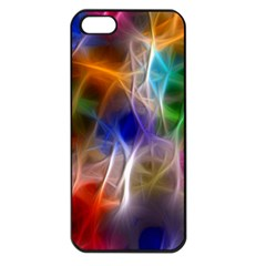 Fractal Fantasy Apple Iphone 5 Seamless Case (black) by StuffOrSomething