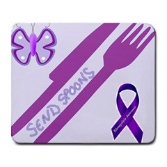 Send Spoons Large Mouse Pad (rectangle) by FunWithFibro