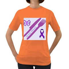 Send Spoons Women s T Shirt (colored) by FunWithFibro