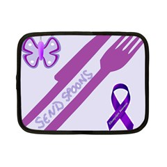 Send Spoons Netbook Sleeve (small) by FunWithFibro