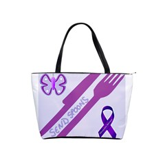 Send Spoons Large Shoulder Bag by FunWithFibro