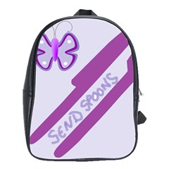 Send Spoons School Bag (large) by FunWithFibro
