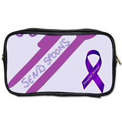 Send Spoons Travel Toiletry Bag (one Side) by FunWithFibro