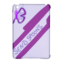 Send Spoons Apple Ipad Mini Hardshell Case (compatible With Smart Cover) by FunWithFibro