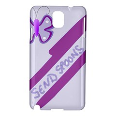 Send Spoons Samsung Galaxy Note 3 N9005 Hardshell Case by FunWithFibro