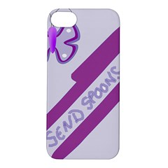 Send Spoons Apple Iphone 5s Hardshell Case by FunWithFibro