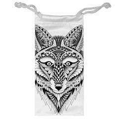 Ornate Foxy Wolf Jewelry Bag by Zandiepants
