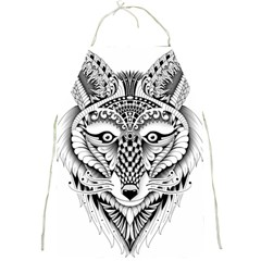 Ornate Foxy Wolf Apron