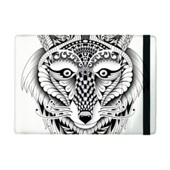 Ornate Foxy Wolf Apple Ipad Mini 2 Flip Case by Zandiepants