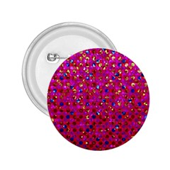 Polka Dot Sparkley Jewels 1 2 25  Button by MedusArt
