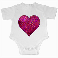 Polka Dot Sparkley Jewels 1 Infant Bodysuit by MedusArt