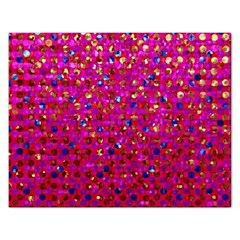 Polka Dot Sparkley Jewels 1 Jigsaw Puzzle (rectangle) by MedusArt