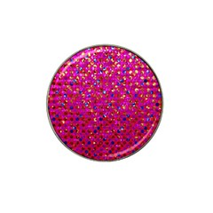 Polka Dot Sparkley Jewels 1 Golf Ball Marker 10 Pack (for Hat Clip) by MedusArt