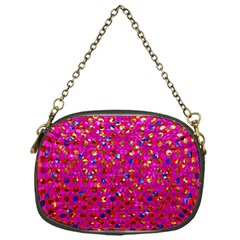 Polka Dot Sparkley Jewels 1 Chain Purse (one Side) by MedusArt