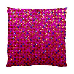 Polka Dot Sparkley Jewels 1 Cushion Case (two Sided)