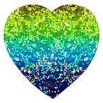 Glitter 4 Jigsaw Puzzle (Heart) Front