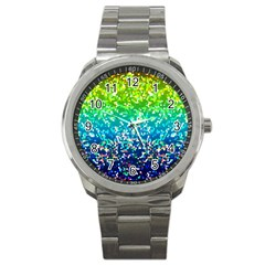 Glitter 4 Sport Metal Watch by MedusArt
