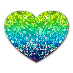 Glitter 4 Mouse Pad (heart) by MedusArt