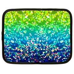 Glitter 4 Netbook Sleeve (large) by MedusArt