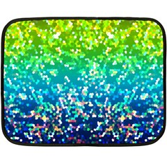 Glitter 4 Mini Fleece Blanket (two Sided) by MedusArt