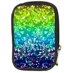 Glitter 4 Compact Camera Leather Case by MedusArt