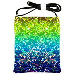Glitter 4 Shoulder Sling Bag by MedusArt