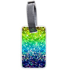 Glitter 4 Luggage Tag (one Side) by MedusArt