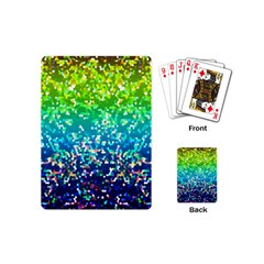 Glitter 4 Playing Cards (mini) by MedusArt