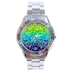 Glitter 4 Stainless Steel Watch by MedusArt