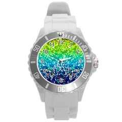 Glitter 4 Plastic Sport Watch (large) by MedusArt