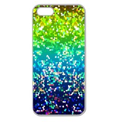 Glitter 4 Apple Seamless Iphone 5 Case (clear) by MedusArt