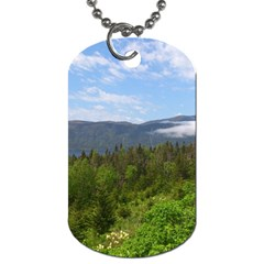 Newfoundland Dog Tag (two Sided)  by DmitrysTravels