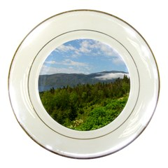 Newfoundland Porcelain Display Plate