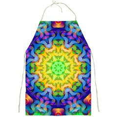 Psychedelic Abstract Apron by Colorfulplayground