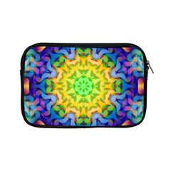 Psychedelic Abstract Apple Ipad Mini Zippered Sleeve by Colorfulplayground