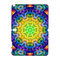 Psychedelic Abstract Samsung Galaxy Note 10 1 (p600) Hardshell Case by Colorfulplayground