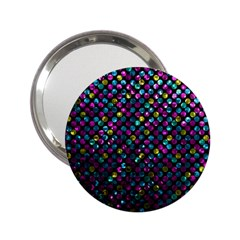 Polka Dot Sparkley Jewels 2 Handbag Mirror (2 25 ) by MedusArt