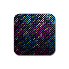 Polka Dot Sparkley Jewels 2 Drink Coasters 4 Pack (square) by MedusArt