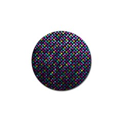 Polka Dot Sparkley Jewels 2 Golf Ball Marker by MedusArt