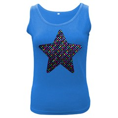 Polka Dot Sparkley Jewels 2 Women s Tank Top (dark Colored) by MedusArt