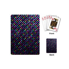 Polka Dot Sparkley Jewels 2 Playing Cards (mini) by MedusArt