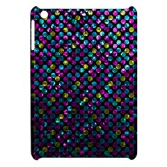 Polka Dot Sparkley Jewels 2 Apple Ipad Mini Hardshell Case by MedusArt