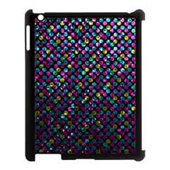 Polka Dot Sparkley Jewels 2 Apple Ipad 3/4 Case (black) by MedusArt