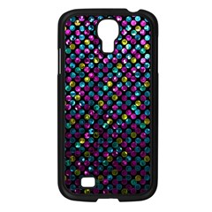 Polka Dot Sparkley Jewels 2 Samsung Galaxy S4 I9500/ I9505 Case (black) by MedusArt
