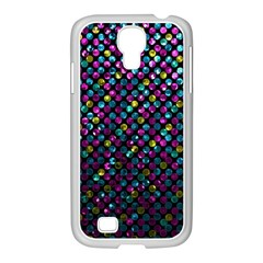 Polka Dot Sparkley Jewels 2 Samsung Galaxy S4 I9500/ I9505 Case (white) by MedusArt